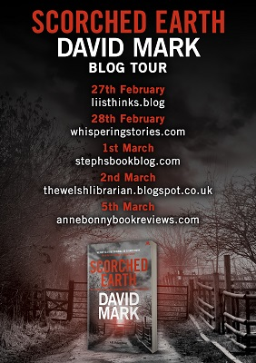 scorched earth Blog Tour Poster