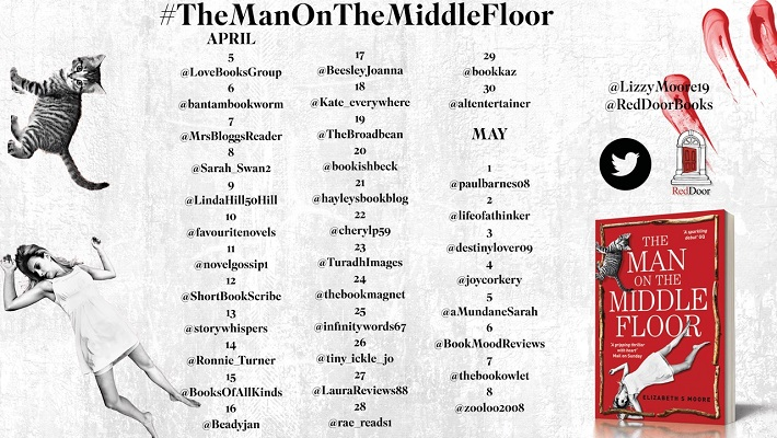 The Man on the Middle Floor tour poster