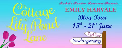 Cottage on Lily Pond Lane Blog Tour