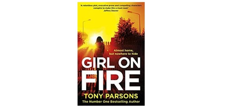 Feature Image - Girl on Fire by Tony Parsons