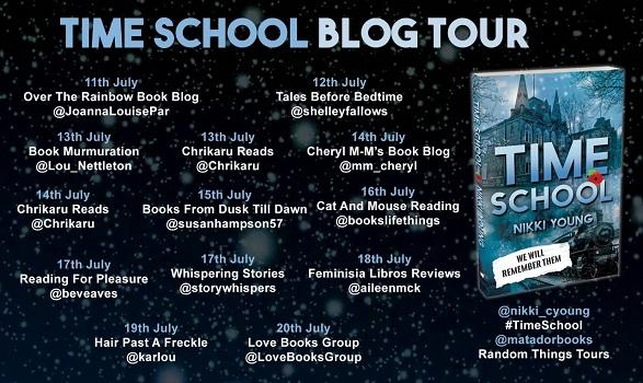 Time School Blog Tour Poster