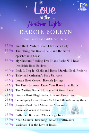 Love at the Northern Lights blog tour