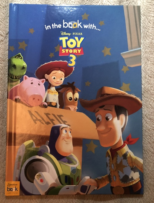 Toy story 3 book front cover The Personalised Gift Shop