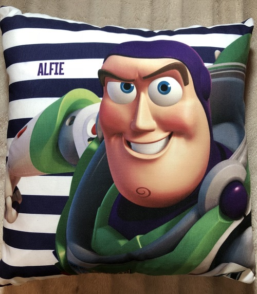 Toy story 3 cushion The Personalised Gift Shop