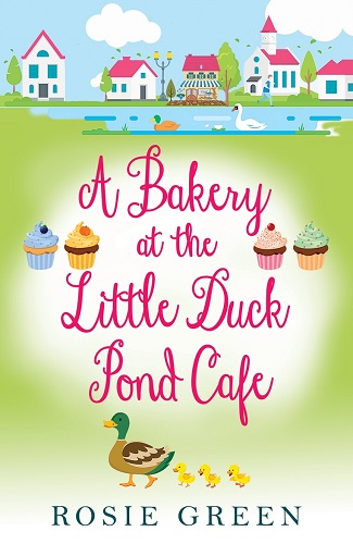 Bakery at the little duck pond cafe by rosie green