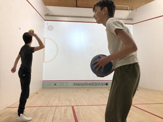 Interactive squash