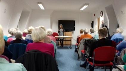 Julie author talk