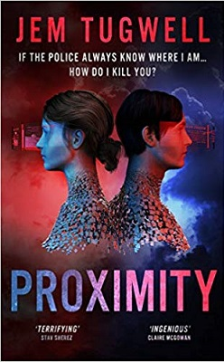 Proximity book cover by Jem Tugwell