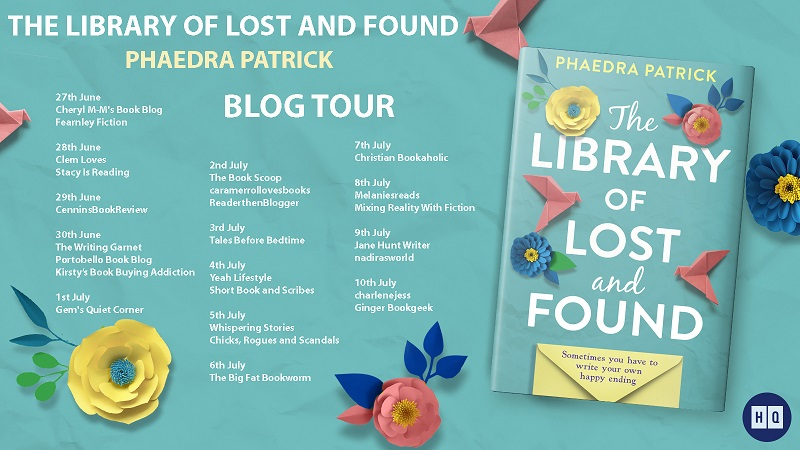 BLOG TOUR BANNER The library of lost and found