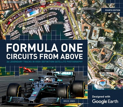 Formula One Circuits From Above by Bruce Jones