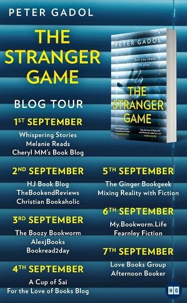 The Stranger Game tour poster