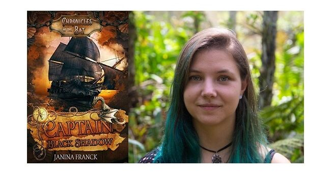 Feature Image - Captain Black Shadow by Janina Franck