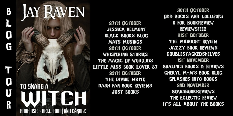 To Snare A Witch Full Tour Banner