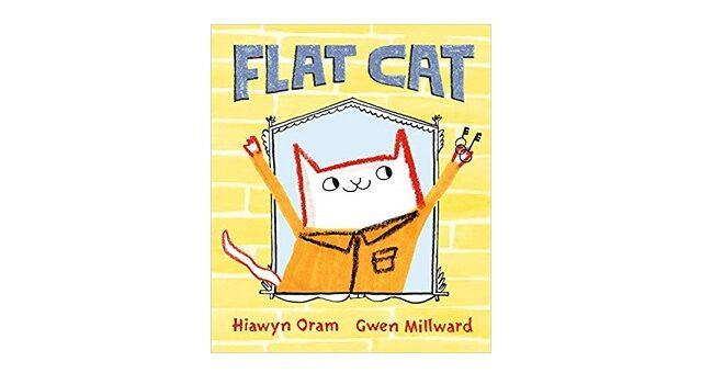 Feature Image - Flat Cat by Hiawyn Oram