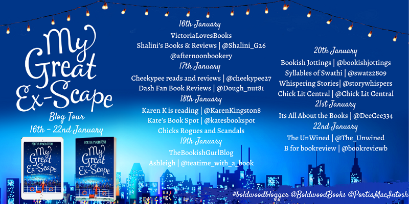 My Great Ex-Scape Blog Tour Banner