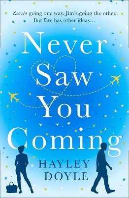 Never Saw You Coming by Hayley Doyle