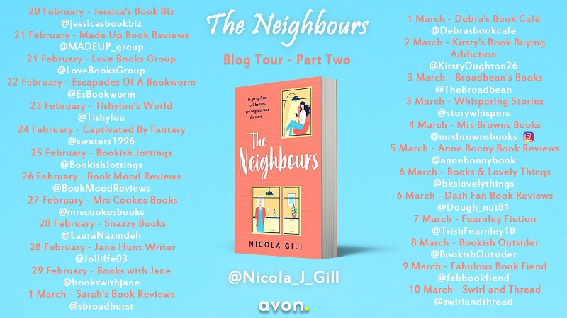 The Neighbours tour poster