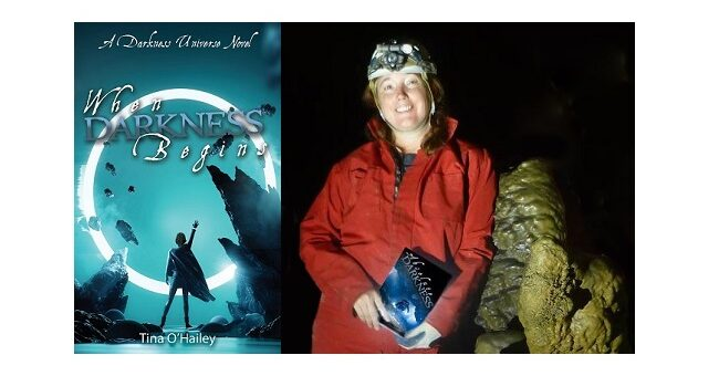 Feature Image - When Darkness Begins by Tina O'hailey