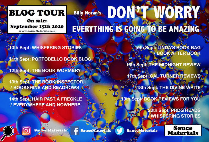 Dont Worry Blog Tour Poster