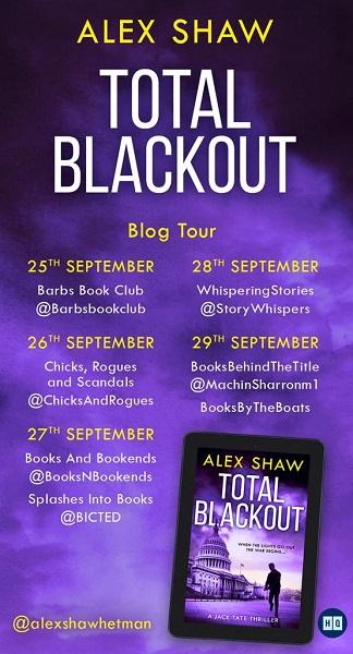 Total Blackout by Alex Shaw tour poster