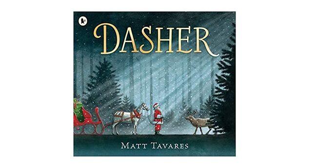 Feature Image - Dasher by Matt Tavares