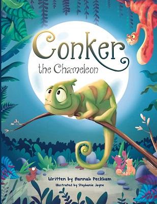Concker the Chameleon by Hannah Peckham