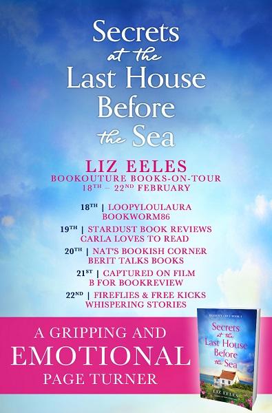 Secrets at the Last House BTS blog tour poster