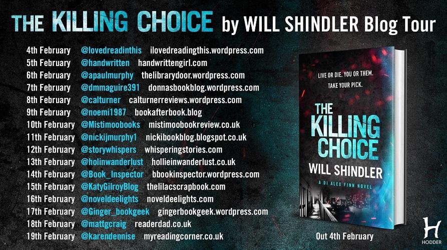 The Killing Choice Blog Tour Poster
