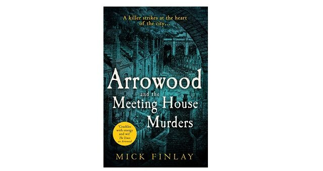 Feature Image - Arrowood and The Meeting House Murders by Mick Finlay