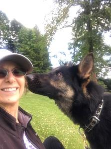 Elizabeth Pantley sons dog