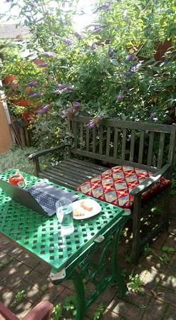 Georgina Jeffery Garden Writing Space