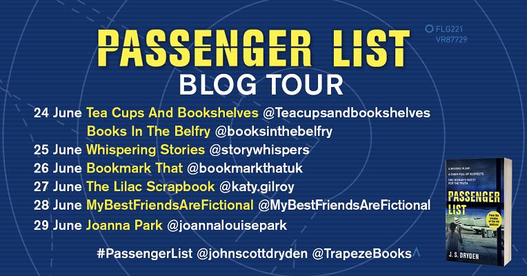 Passenger List Blog Tour poster