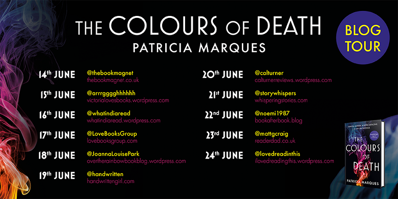 The Colours of death Tour Poster