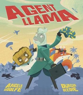 Agent Llama by Angela Woolfe
