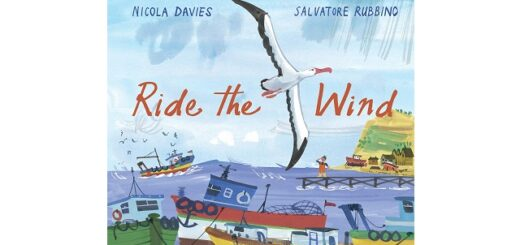 Feature Image - Ride the Wind by Nicola Davies