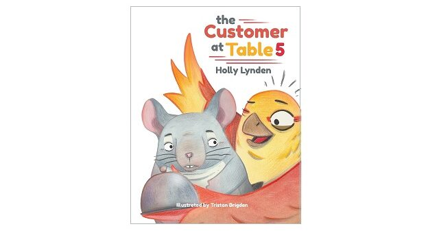 Feature Image - The Customer at Table 5 by Holly Lynden