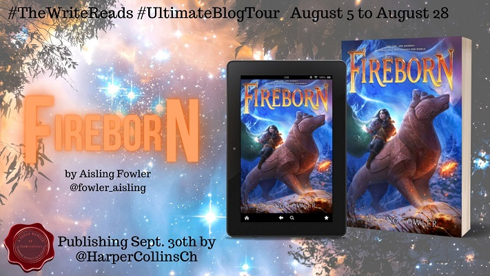 Fireborn tour poster