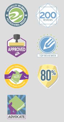 Netgalley badges 2021