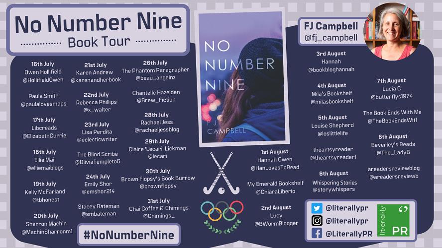 no number nine tour poster