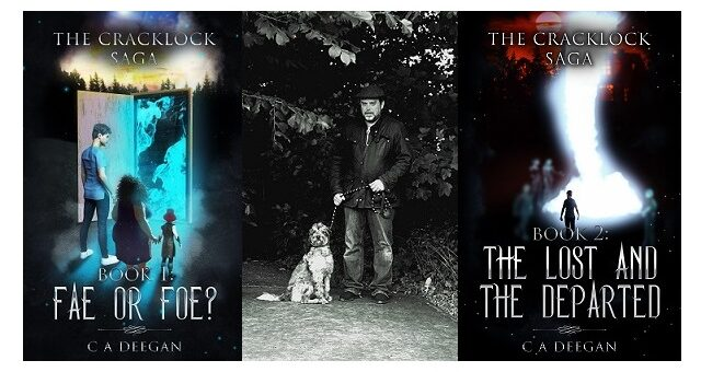 Feature Image - The Cracklock Series by C A Deegan