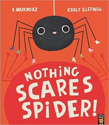 Nothing Scares Spider by S Marendaz