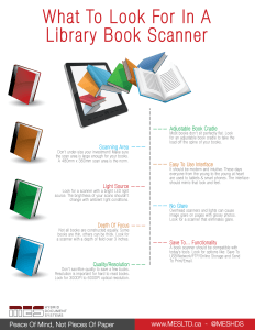 Library Book Scanner