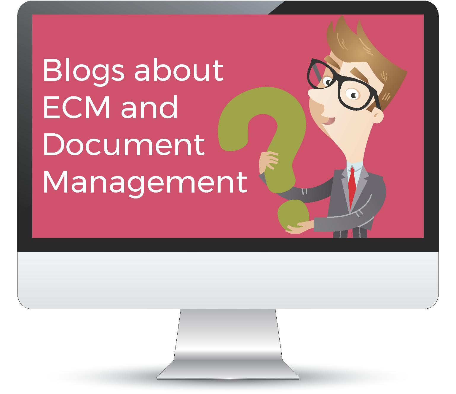 Blogs about document management