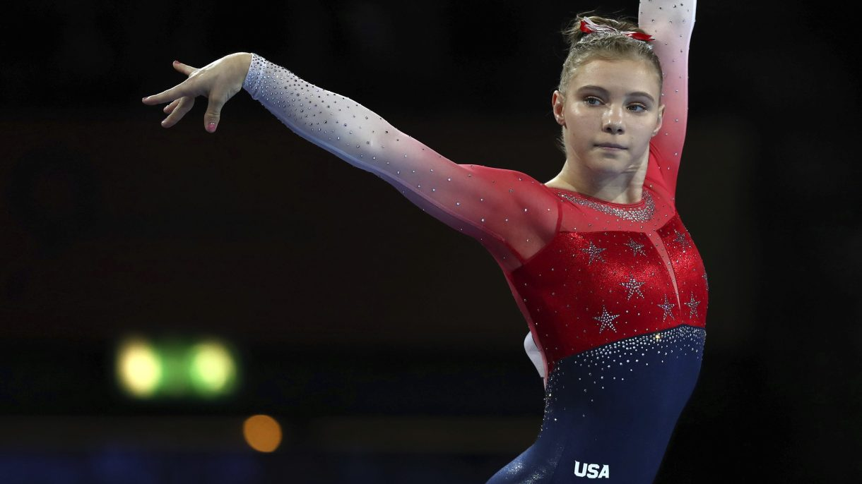 Who to Watch for the 2020 Olympics…Jade Carey