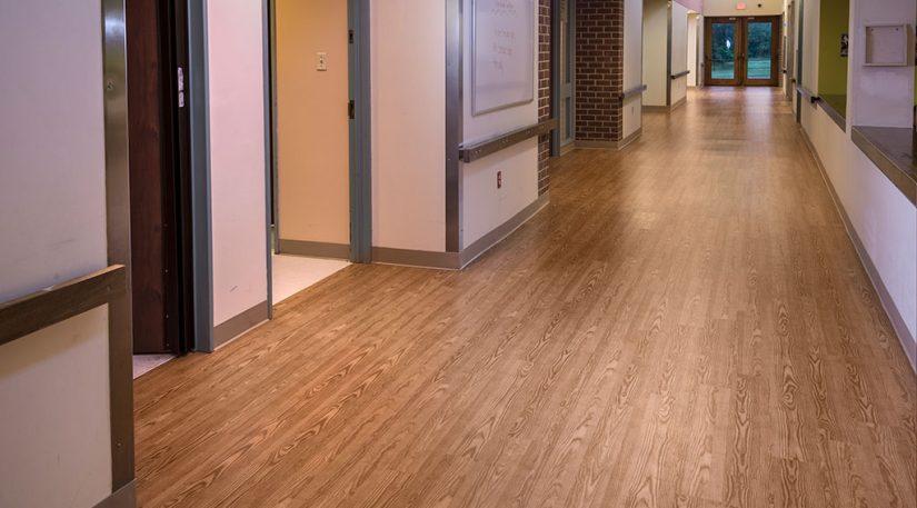 Vinyl Plank Hallway