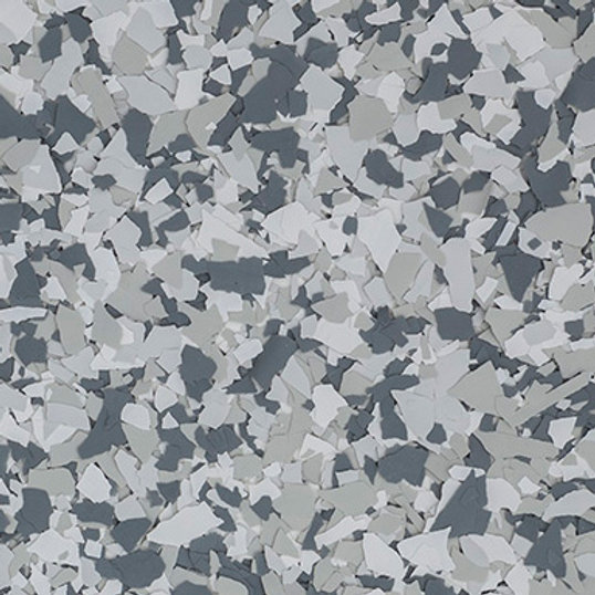 Vinyl flakes for epoxy chip system gravel color flakes