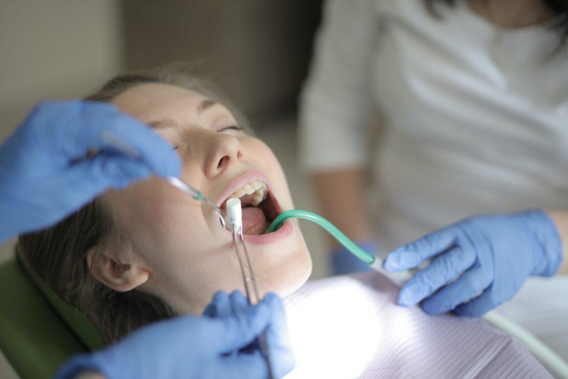 dental check with dental tools houston family dentistry