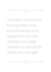 banking relationships