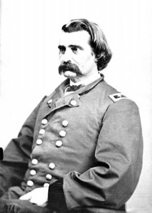 Civil War Commander in Chief John A. Logan declared the first official Memorial Day in 1868 CREDIT: Portrait of Maj. Gen. John A. Logan, Officer of the Federal Army, ca. 1860-1865. Prints and Photographs Division, Library of Congress. Reproduction Number LC-DIG-cwpb-07018