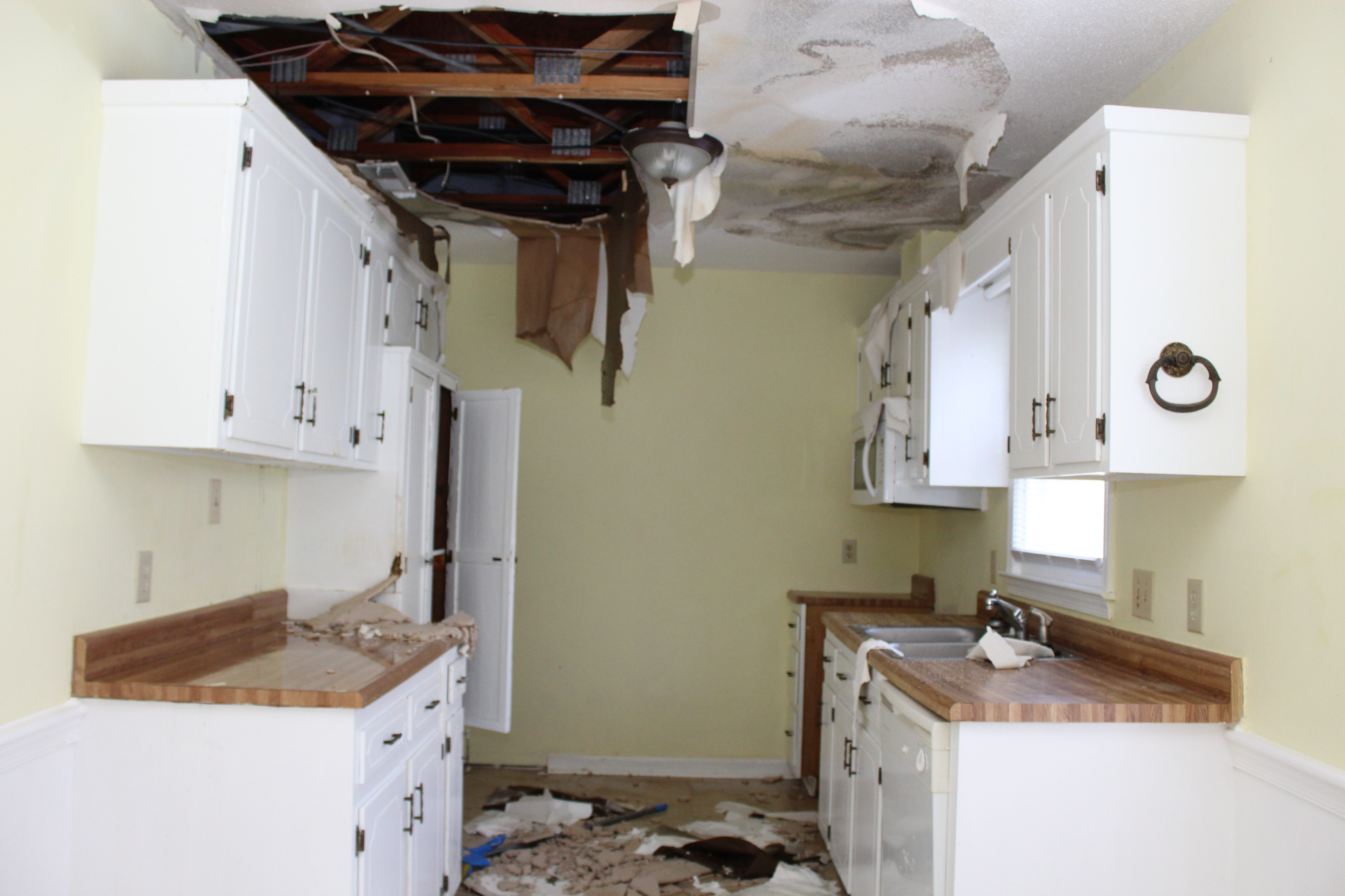 Under Contract & House Has Been Damaged; Now What?
